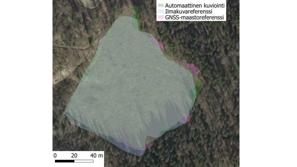 Automaattinen kuviointi Metsäteho